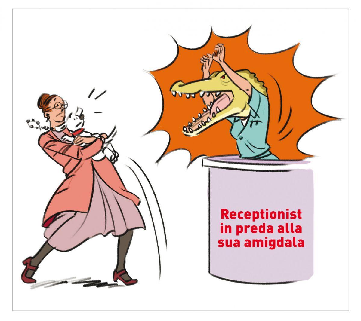 Figura 1. Siate consapevoli che il vostro linguaggio corporeo e il tono di voce rivelano le vostre emozioni negative nonostante ciò che dite. © Manuel Fontègne