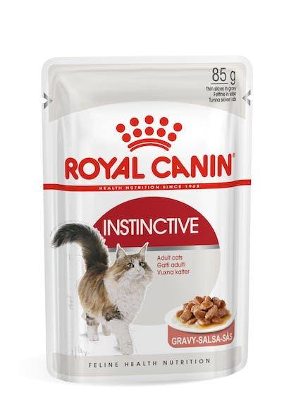 Πλήρης τροφή για ενήλικες γάτες (ψιλοκομμένες φέτες σε σάλτσα)