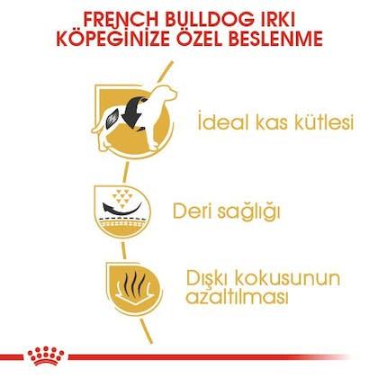Royal Canin French Bulldog Adult Köpek Maması 3