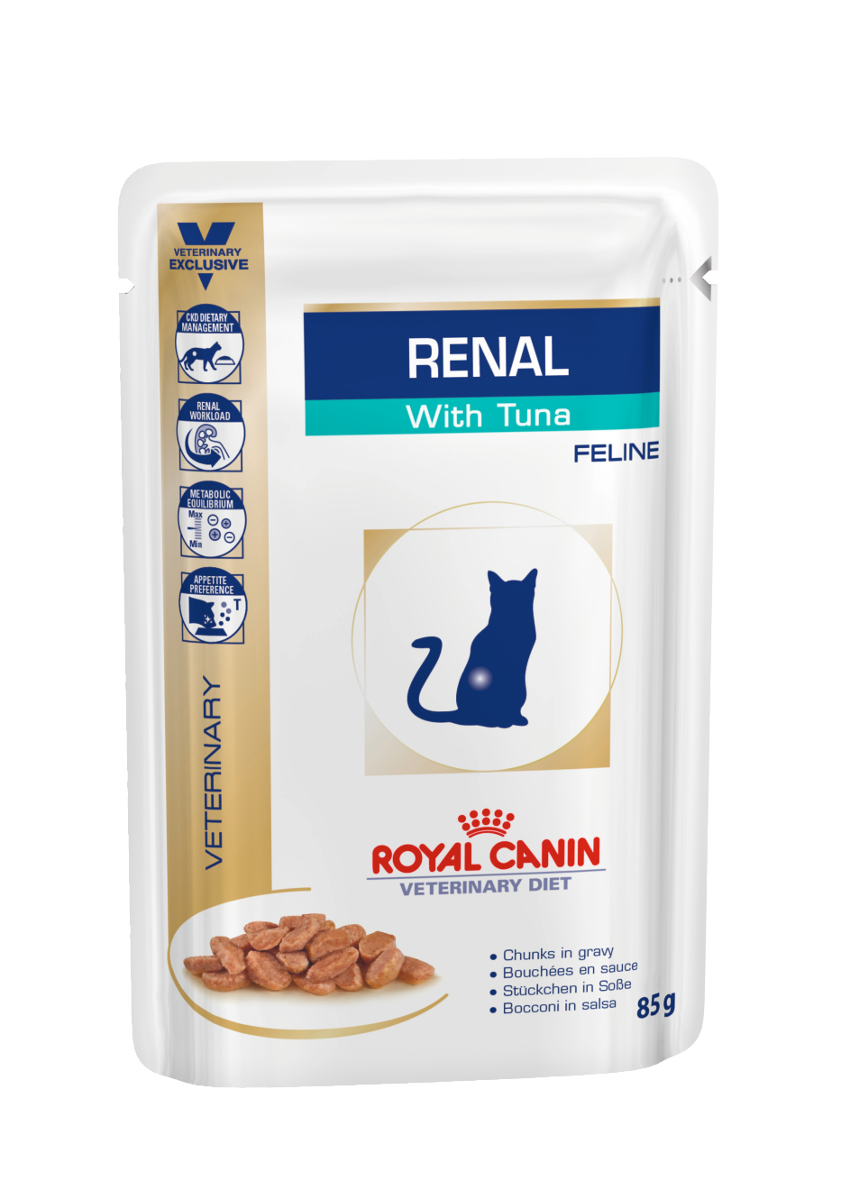 Renal With Tuna Cig Pouch Wet Royal Canin