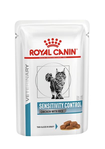 VHN DERMATOLOGY-SENSITIVITY CHICKEN CAT POUCH-POUCH PACKSHOT B1