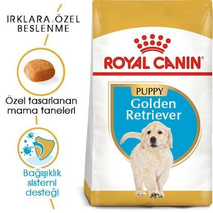 Royal Canin Golden Retriever Puppy Yavru Köpek Maması 7