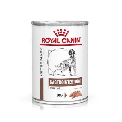 VHN-eRetail Full Kit-Hero-Images-Gastrointestinal Low Fat 410g Dog Wet-B1