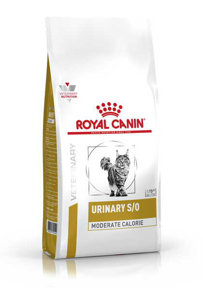 VHN-URINARY-URINARY SO MODERATE CALORIE CAT DRY-PACKSHOT