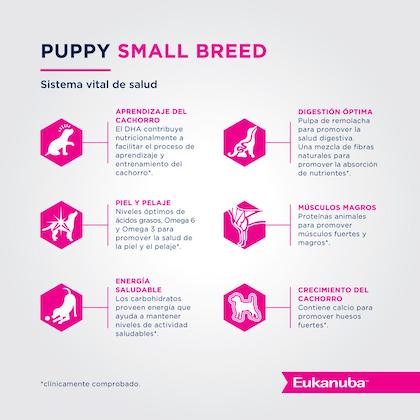 Eukanuba Puppy Small Breed - Cachorro Talla Pequeña