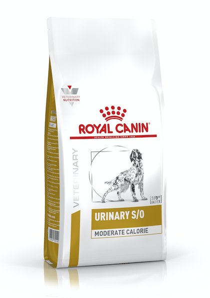 VHN-URINARY-URINARY SO MODERATE CALORIE DOG DRY-PACKSHOT