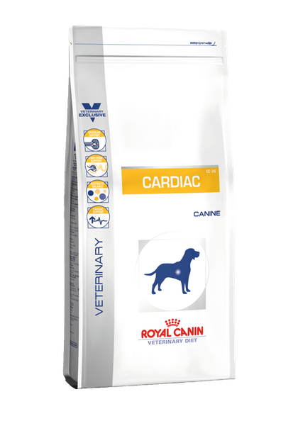 VDiet Canine Dry Range Packshots + Chart:Update Packaging Graphical Codes - VDD-CARDIAC-PACKSHOT