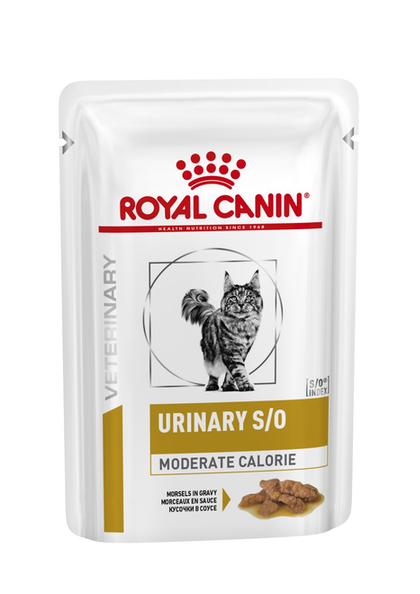 VHN-URINARY-URINARY SO MODERATE CALORIE CAT MIG POUCH-POUCH PACKSHOT