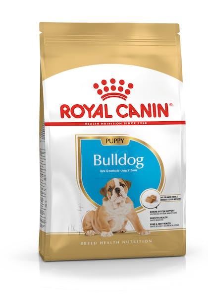 Τροφή σκύλων ράτσας Bulldog μέχρι 12 μηνών