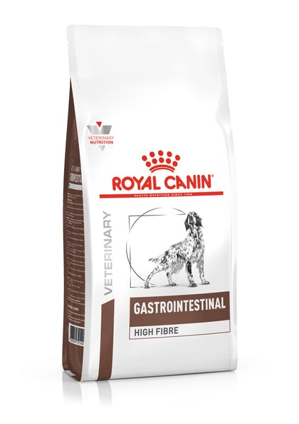 VHN-GASTROINTESTINAL HIGH FIBRE DOG DRY-PACKSHOT