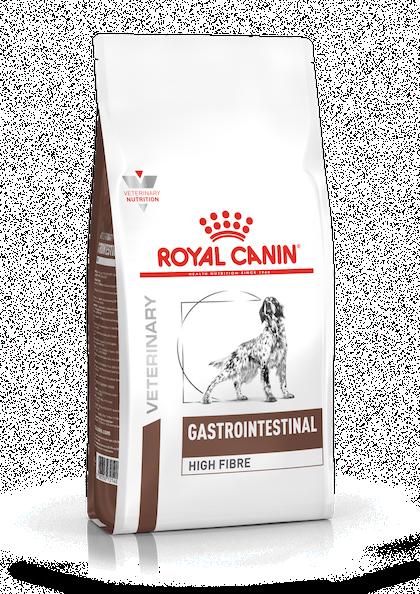 VHN-GASTROINTESTINAL HIGH FIBRE DOG DRY-PACKSHOT