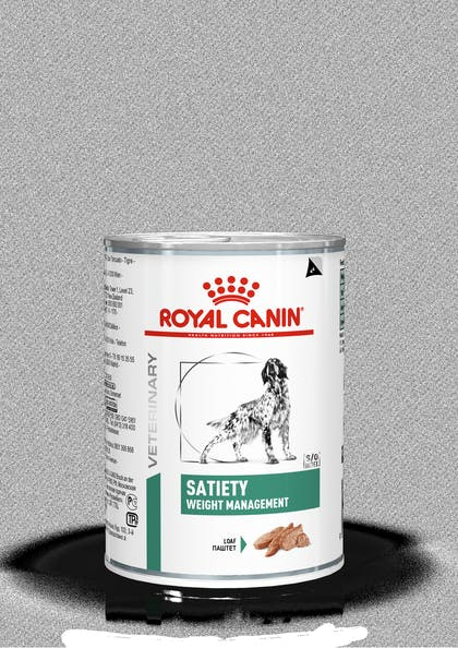 VHN-WEIGHT MANAGEMENT-SATIETY DOG LOAF CAN 400G-PACKSHOT