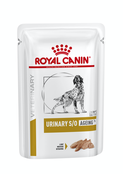VHN-URINARY-URINARY SO AGEING DOG LOAF POUCH-POUCH PACKSHOT