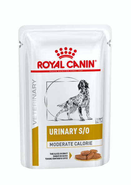VHN-URINARY-URINARY SO MODERATE CALORIE DOG SIG POUCH-POUCH PACKSHOT