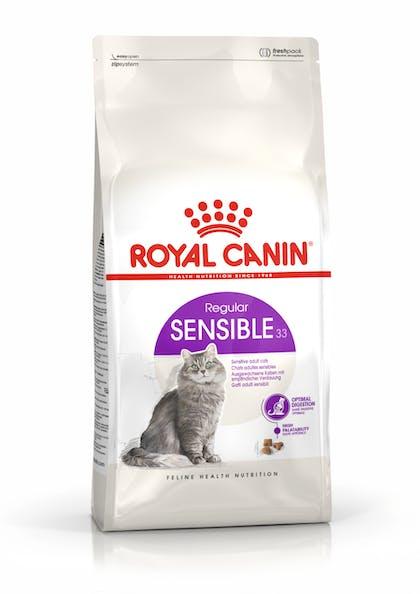Πλήρης και ισορροπημένη τροφή για ενήλικες γάτες άνω του 1 έτους με πεπτική ευαισθησία