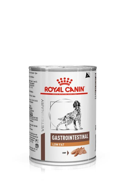 VHN-GASTROINTESTINAL LOW FAT DOG LOAF CAN 400GR-PACKSHOT