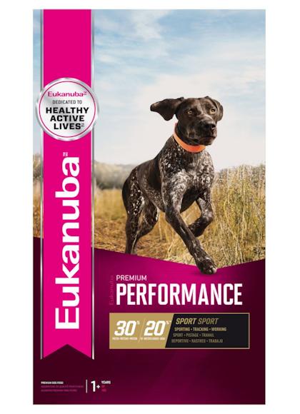 Eukanuba PREMIUM PERFORMANCE SPORT 30_20-Front Pack – FR_EN_ES