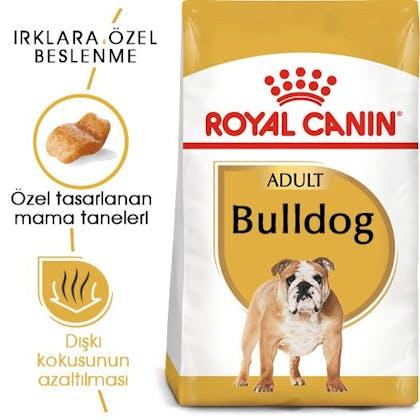 Royal Canin Bulldog Adult Köpek Maması 6