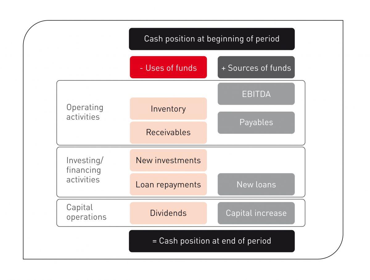 Simplified Cash Flow Statement.
