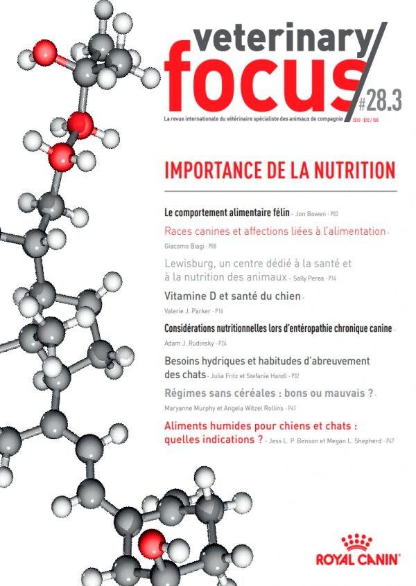 Importance de la nutrition