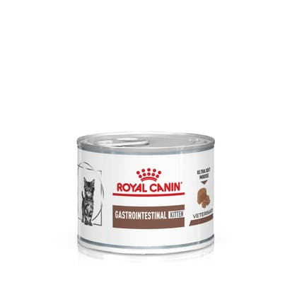 VHN-eRetail Full Kit-Hero-Images-Gastrointestinal Kitten 200g Ultra Soft Mousse Cat Wet-B1