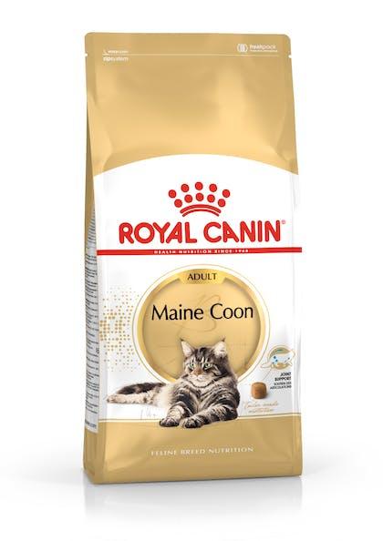 Πλήρης και ισορροπημένη τροφή για γάτες για ενήλικες γάτες φυλής Maine Coon άνω των 15 μηνών