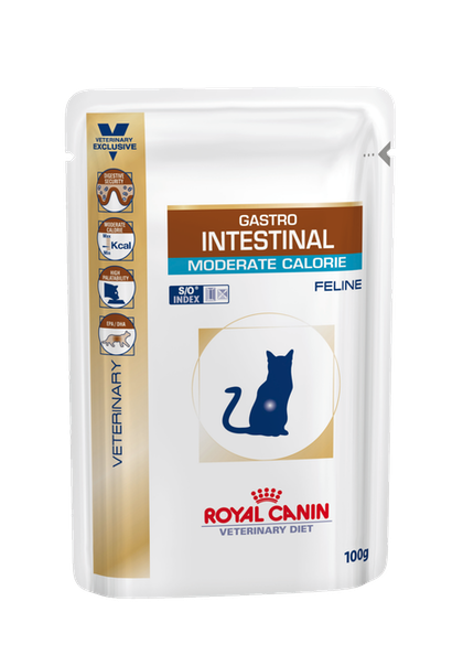 Gastrointestinal Moderate Calorie Cat Pouch