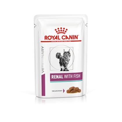 VHN-VITAL SUPPORT-RENAL CAT WET FISH CIG POUCH 85GR-PACKSHOT