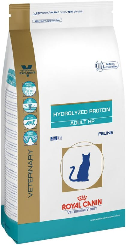 Hydrolyzed protein cat