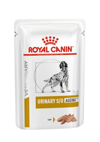 VHN-URINARY-URINARY S/O AGEING 7+ LOAF POUCH-PACKSHOT