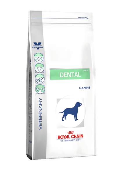 VDiet Canine Dry Range Packshots + Chart:Update Packaging Graphical Codes - VDD-DENTAL-PACKSHOT