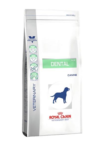 VDiet Canine Dry Range Packshots + Chart:Update Packaging Graphical Codes - VDD-DENTAL-PACKSHOT