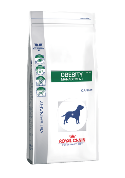 VDiet Canine Dry Range Packshots + Chart:Update Packaging Graphical Codes - VDD-OBESITY-PACKSHOT