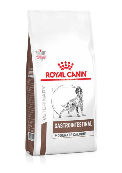 VHN-GASTROINTESTINAL MODERATE CALORIE DOG DRY-PACKSHOT