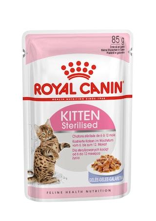 Sterilised Kitten Jelly