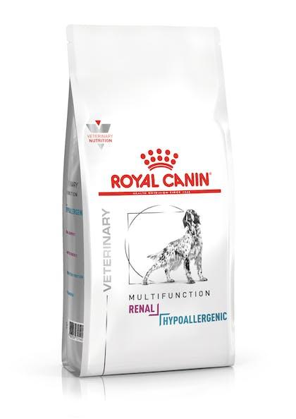 VHN-VITAL SUPPORT-RENAL + HYPOALLERGENIC DOG DRY-PACKSHOT