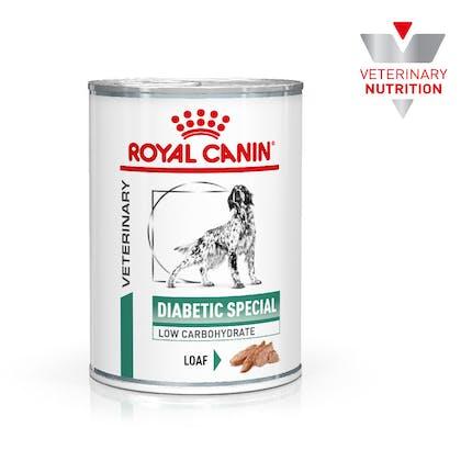 VHN-BrandFlagship-Hero-Images-Weight Management Diabetic 410g Loaf Dog Wet-B1