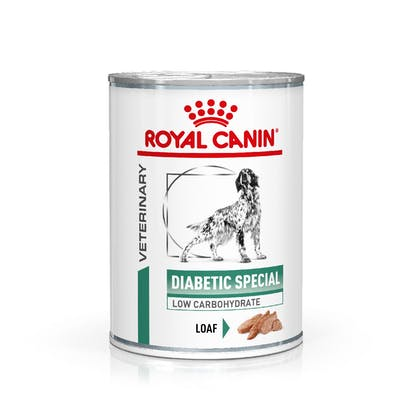 VHN-eRetail Full Kit-Hero-Images-Weight Management Diabetic 410g Loaf Dog Wet-B1