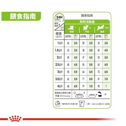 超小型老齡犬XSA+12-3