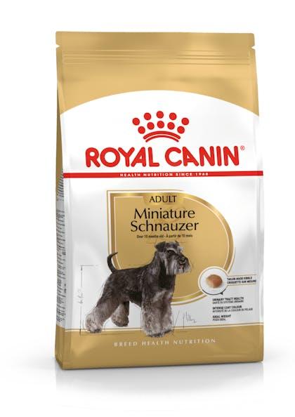 Τροφή σκύλων ράτσας Miniature Schnauzer άνω των 10 μηνών