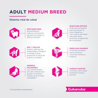 Eukanuba Adult Medium Breed - Adulto Talla Mediana