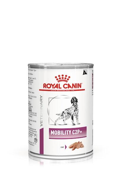 VHN-VITAL SUPPORT-MOBILITY C2P+ DOG WET LOAF CAN 410GR-PACKSHOT