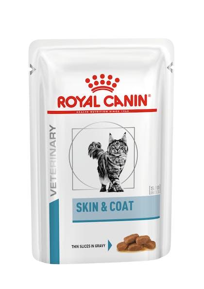 VHN DERMATOLOGY-SKIN & COAT CAT WET POUCH-POUCH PACKSHOT B1