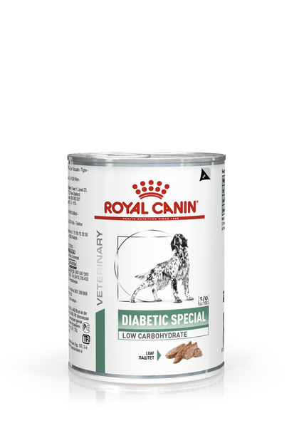 VHN-WEIGHT MANAGEMENT-DIABETIC SPECIAL LOW CARBOHYDRATE DOG CAN 400G-PACKSHOT