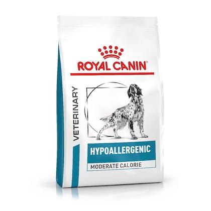 VHN-eRetail Full Kit-Hero-Images-Dermatology Hypoallergenic Moderate Calorie Dog Dry-B1