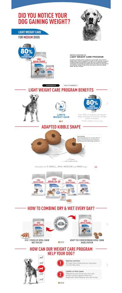 CCN Medium Light Weight Care Dry Enhanced Content