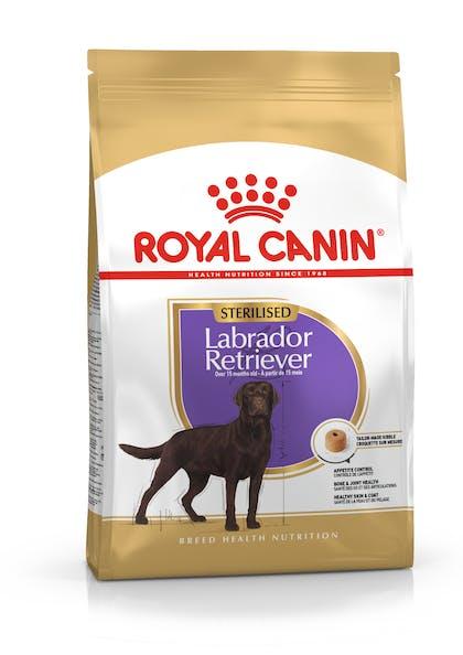 Ξηρά τροφή σκύλων ράτσας Labrador Retrievers  άνω των 15 μηνών