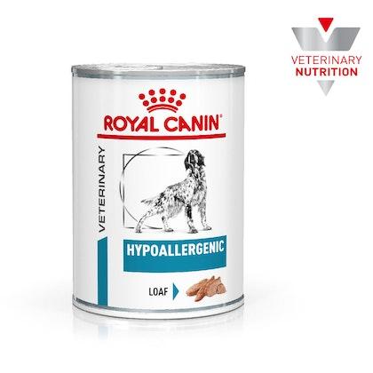 VHN-BrandFlagship-Hero-Images-Dermatology Hypoallergenic 400g Loaf Dog Wet-B1