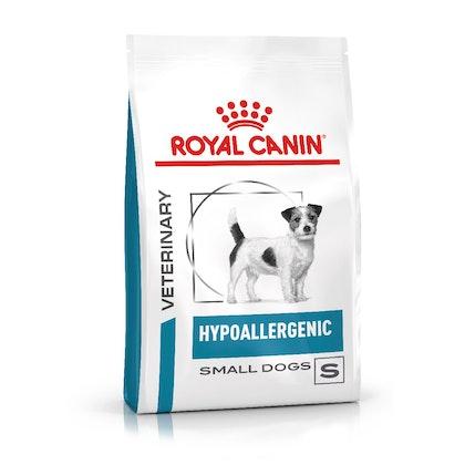 VHN-eRetail Full Kit-Hero-Images-Dermatology Hypoallergenic Small Dog Dry-B1