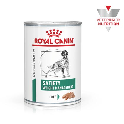 VHN-BrandFlagship-Hero-Images-Weight Management Satiety 410g Loaf Dog Wet-B1